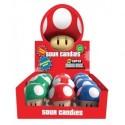 Nintendo Tins Super Mario Bros Sour Candies Display
