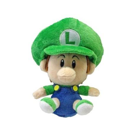 Super Mario Bros. Plush Figure Baby Luigi 13 cm