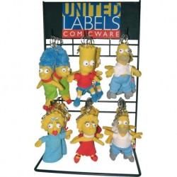 Simpsons Plush Keychain Portachiavi