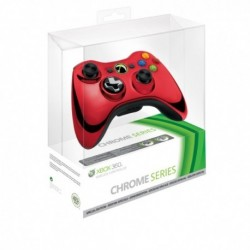Controller Microsoft Chrome Red