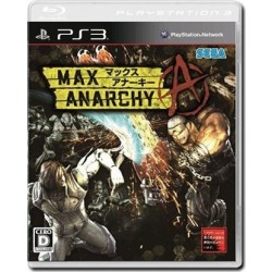 ANARCHY REIGNS - MAX ANARCHY (JAP)(PS3)