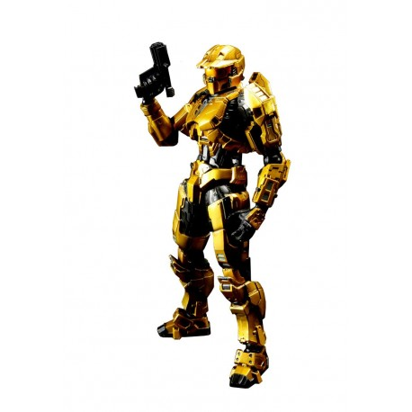 Halo Combat Evolved Play Arts Kai Vol. 1 Action Figure Spartan Mark V Gold 23 cm