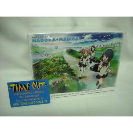DVD PUELLA MAGI MADOKA MAGICA LIMITED FAN EDITION BOX 02 dvd + blu-ray + gadgets