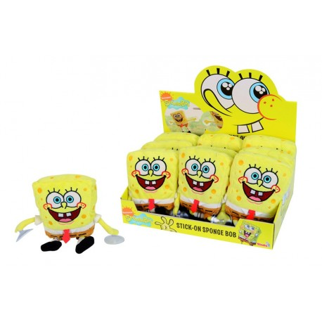 SpongeBob SquarePants Plush Figure with Suction Cups Display 25 cm