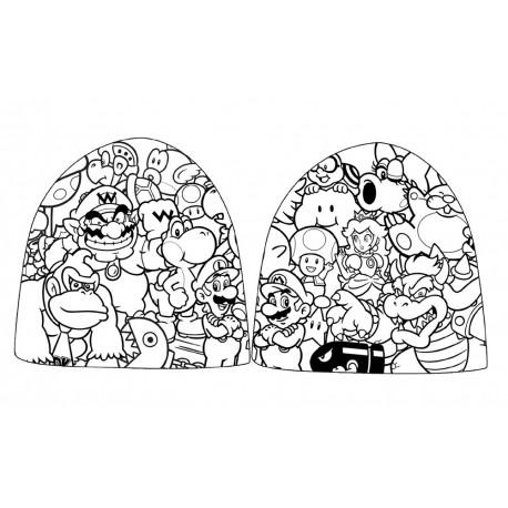 Super Mario Bros Cuffia Beanie Various Characters