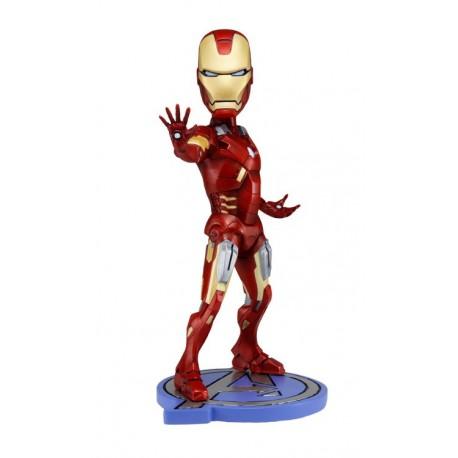 The Avengers Head Knocker Iron Man 18 cm