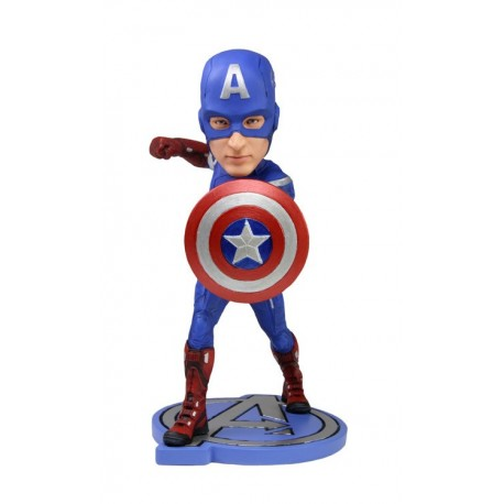 The Avengers Head Knocker Captain America 18 cm