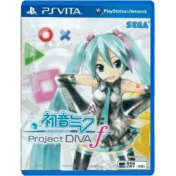 Hatsune Miku: Project Diva f (PS Vita)