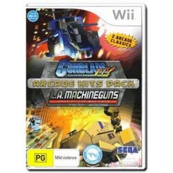 Gun Blade NY & L.A Machineguns Nintendo Wii