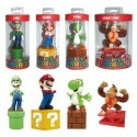 Super Mario Bros. Paperweight Characters Case 15 cm