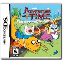 Adventure Time: Hey Ice King! Why'd you steal our garbage?! (DS)
