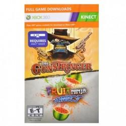 THE GUNSTRINGER+FRUIT NINJA KINECT COMPLETE GAMES DLC CODE XBOX 360