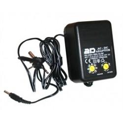 Trasformatore Alimentatore di corrente universale 3-12 volt
