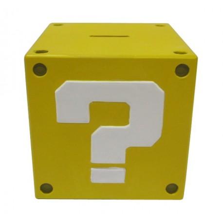 Super Mario Bros. Coin Bank Question Mark 14 cm