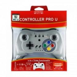3 in 1 Wii U/Wii Retro Classic Controller (Remote+Classic Controller+Pro Controller)