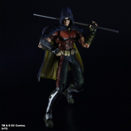 Batman Arkham City Play Arts Kai Action Figure Robin 25 cm