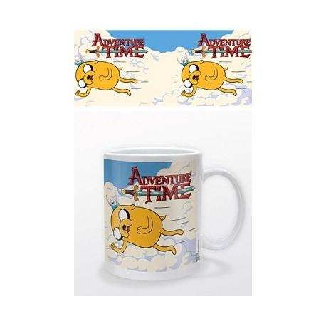 Adventure Time Mug - Tazza Jake & Finn Flying
