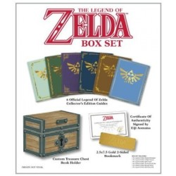 The Legend of Zelda Baule con 6 guide