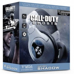 Cuffie Headset CoD GHOSTS Ear Force SHADOW Turtle Beach - Limited Edition (PS3 - PS4 - X360 - Xbox One - PC)