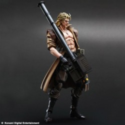 Metal Gear Solid Play Arts Kai Action Figure Solidus Snake 28 cm