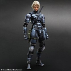 Metal Gear Solid 2 Sons of Liberty Play Arts Kai Action Figure Raiden 28 cm