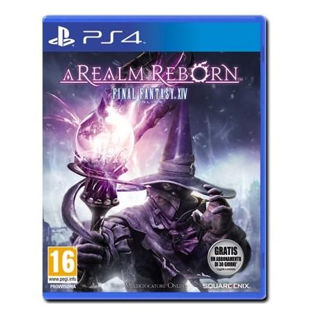 Final Fantasy XIV 14: A Realm Reborn (PS4)