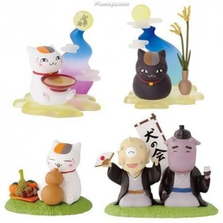 Natsume's Book of Friends - Nyanko-sensei Figure : Autumn (set of 4)