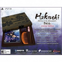 Hakuoki: Stories of the Shinsengumi Limited Edition PS3