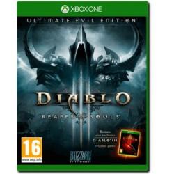"""Diablo 3 Ultimate Evil Edition + Oggetto Esclusivo """"Spallacci Infernali"""" (Xbox One)"""