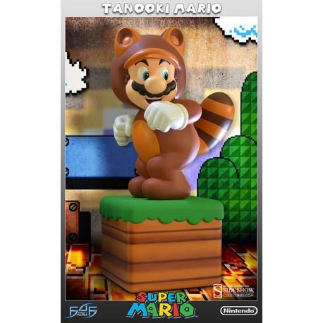 Super Mario: Tanooki Mario First 4 Figures