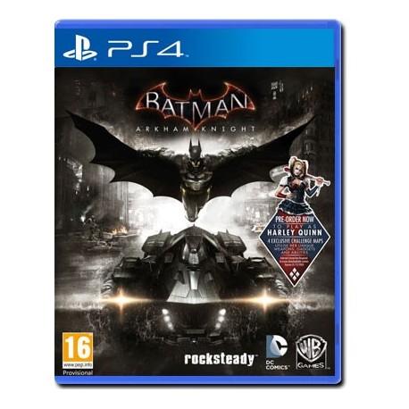 Batman Arkham Knight + DLC Harley Quinn Pack (PS4)