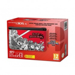 Nintendo 3DS XL - Console Super Smash Bros. - Limited Edition Pack