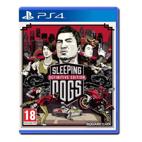 Sleeping Dogs Definitive Edition - DayOne Limited Edition (PS4)